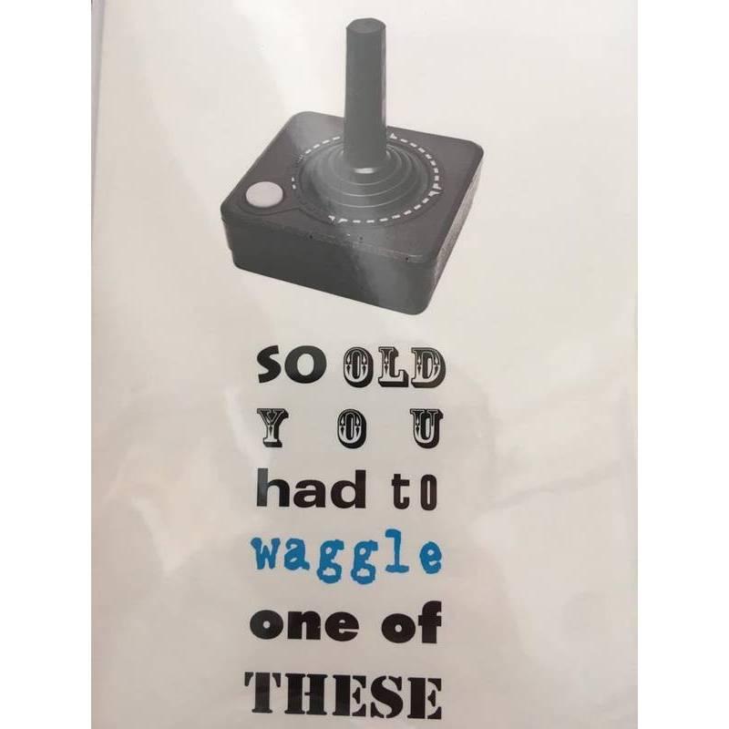 GREETING CARD -WAGGLE