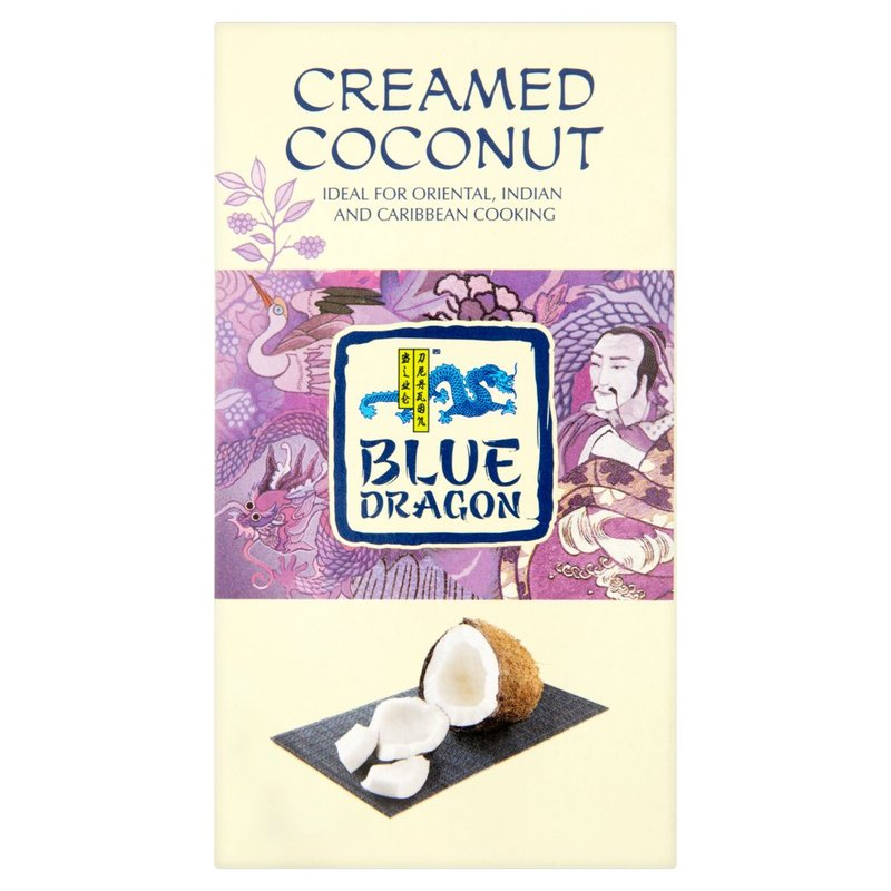 BLUE DRAGON CREAMED COCONUT BLOCK, BOX 200G