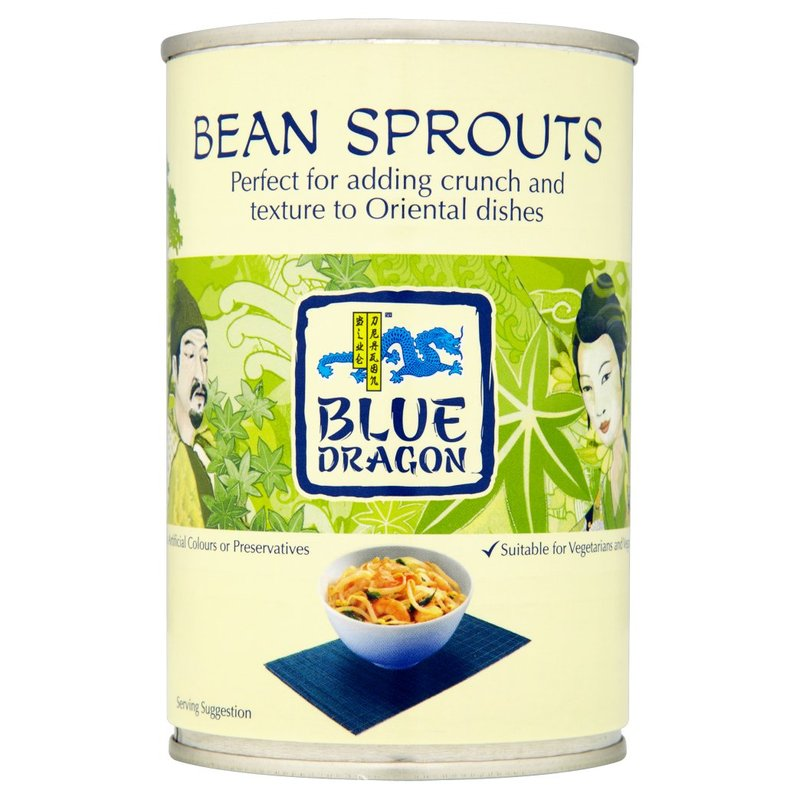BLUE DRAGON GERMOGLI DI SOIA 410G