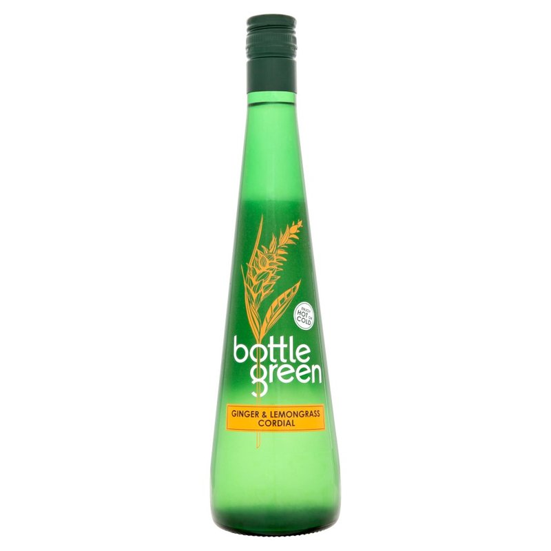 BOTTLE GREEN SUCCO CONCENTRATO ALLO ZENZERO E LEMONGRASS 500ML