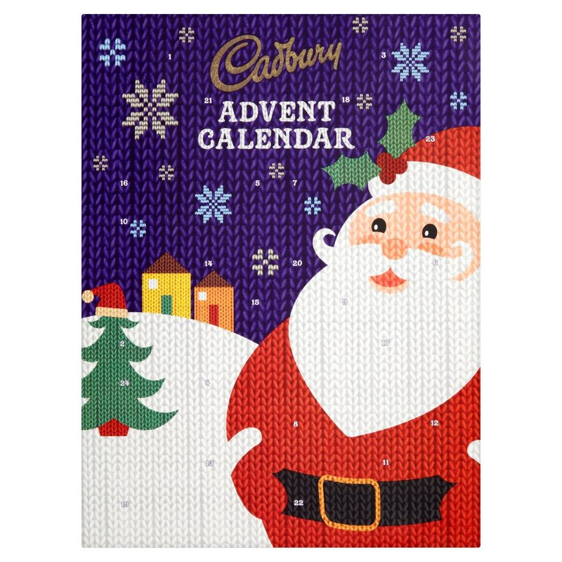 CHRISTMAS CADBURY ADVENT CALENDAR