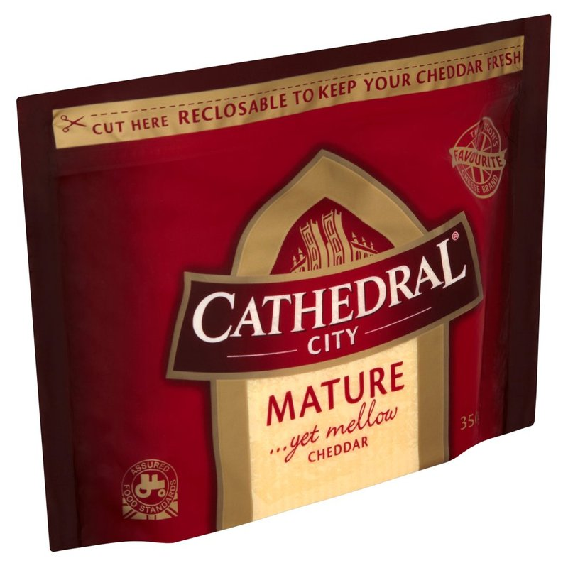 CATHEDRAL CITY MATURE YET MELLOW CHEDDAR 350G