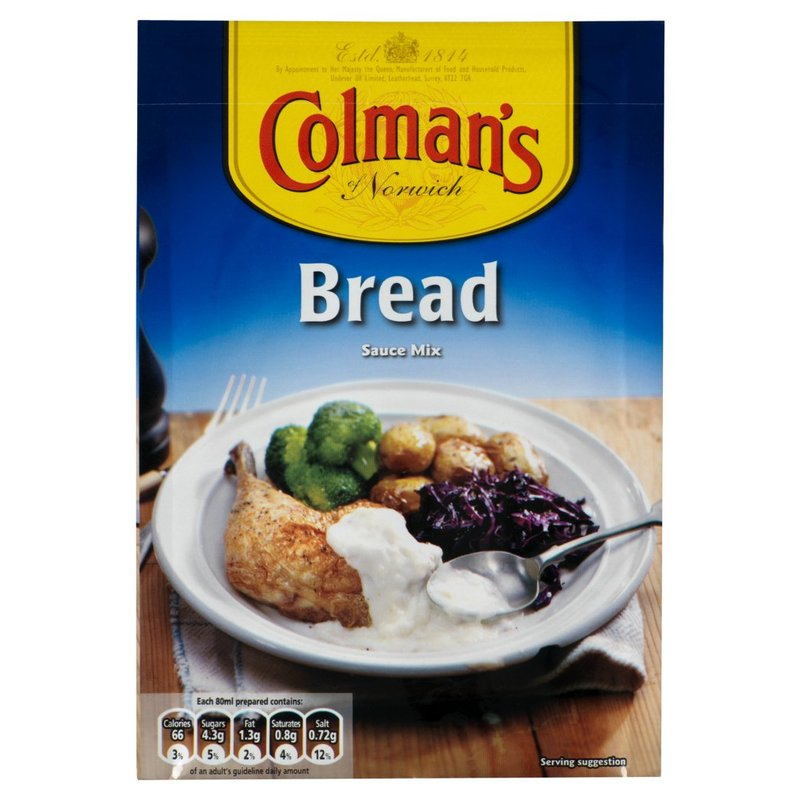 COLMANS BREAD SAUCE SACHET