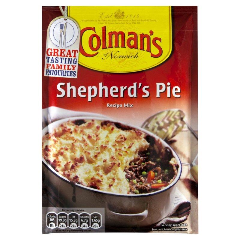 COLMAN'S SHEPHERD'S PIE MIX SACHET 50G