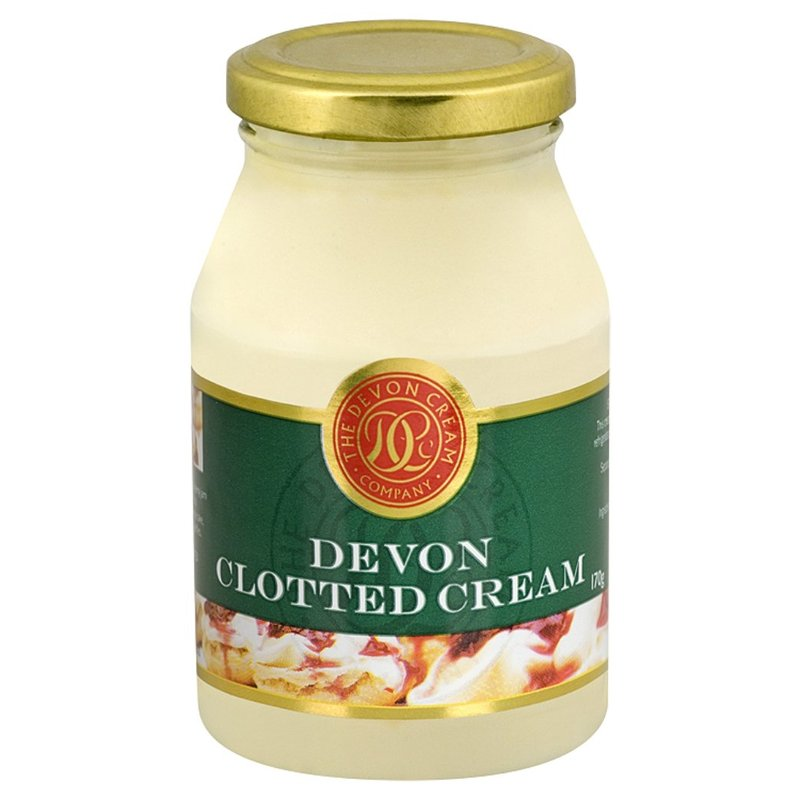 DEVON CLOTTED CREAM JAR 170G
