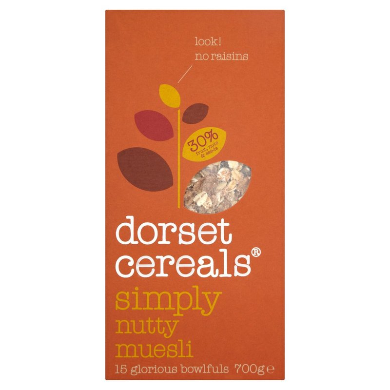 DORSET CEREALS® REALLY NUTTY MUESLI 700G