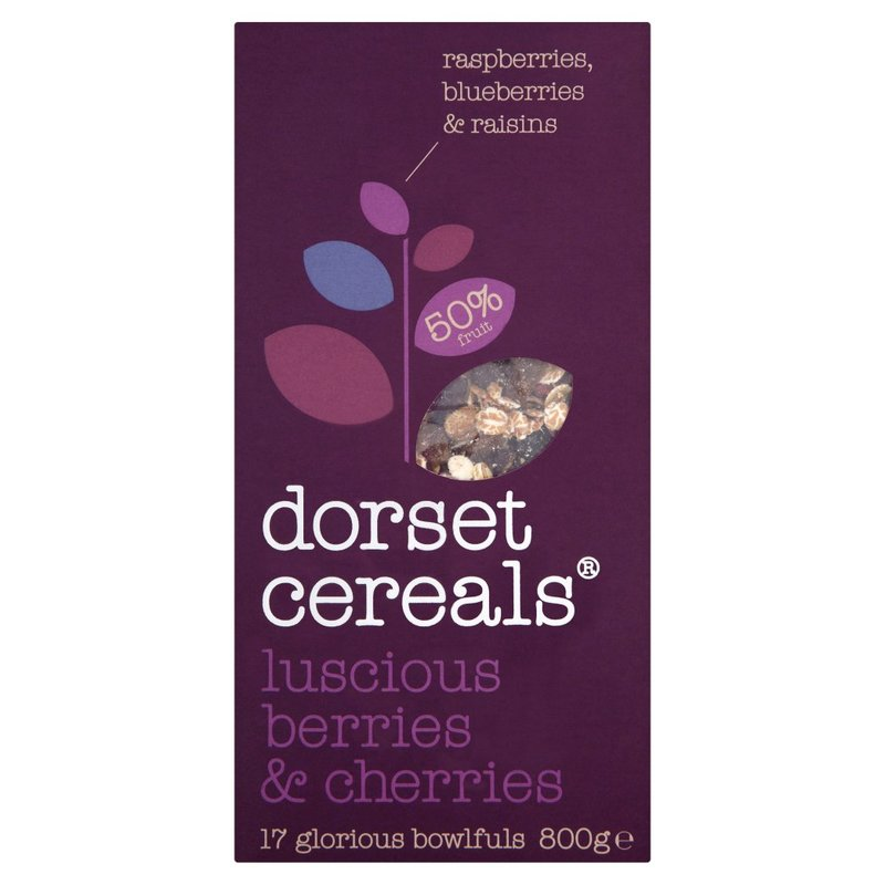 DORSET CEREALS BERRIES & CHERRIES 700G