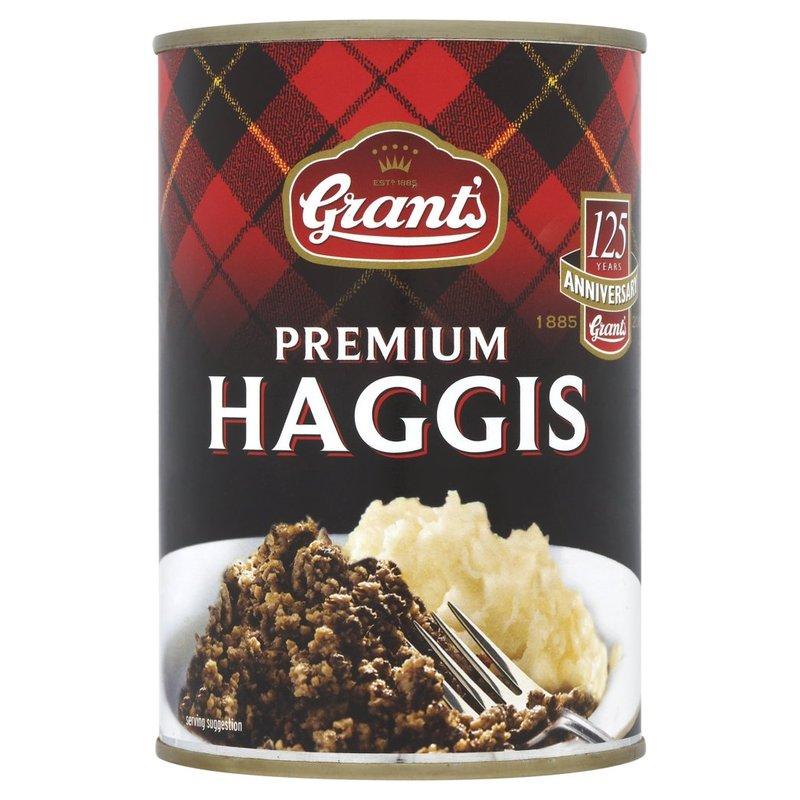 GRANT'S LAMB HAGGIS  AGNELLO IN SCATOLA 392G