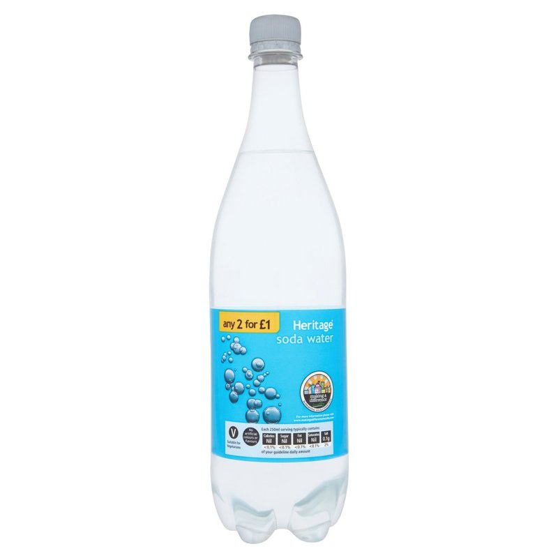 HERITAGE SODA WATER 1L