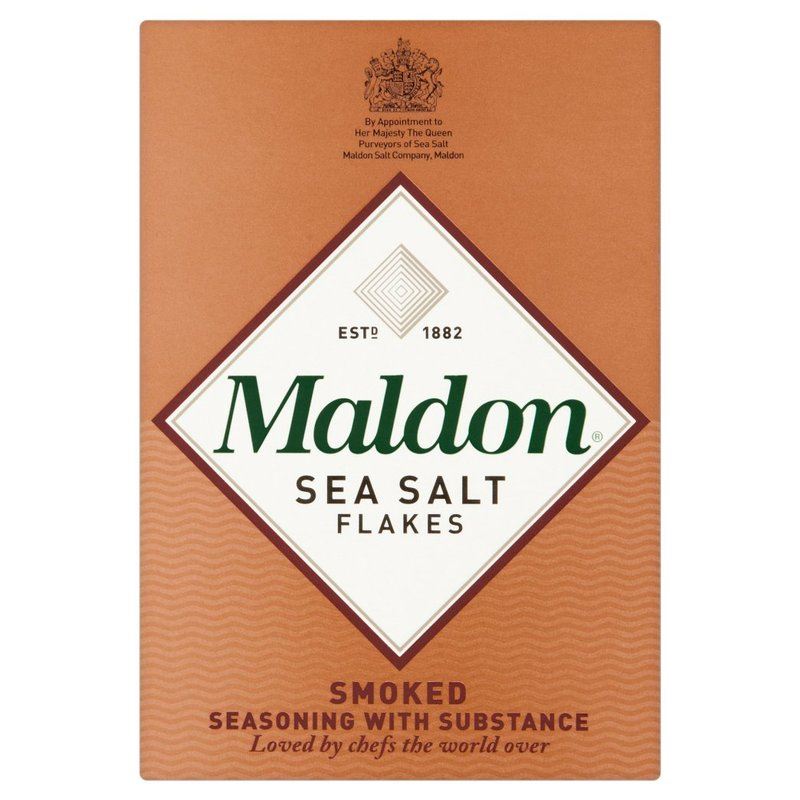 MALDON ORGANIC SEA SALT - SMOKED 125G