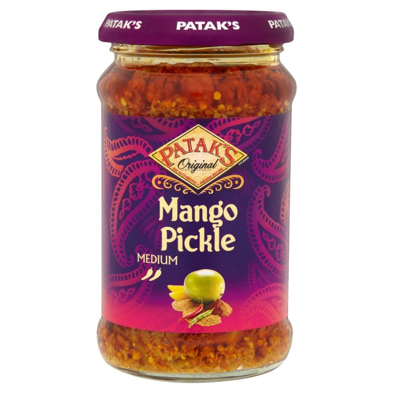 PATAK'S CONDIMENTO AL MANGO PICKLE MEDIUM (JAR) 283G