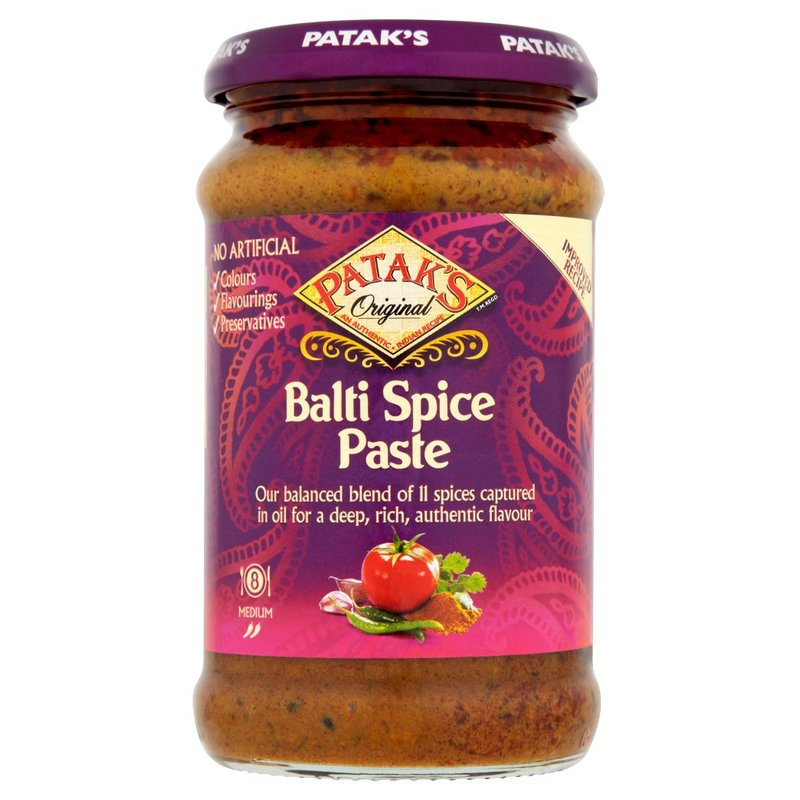 PATAK'S BALTI CURRY PASTE (JAR) 283G