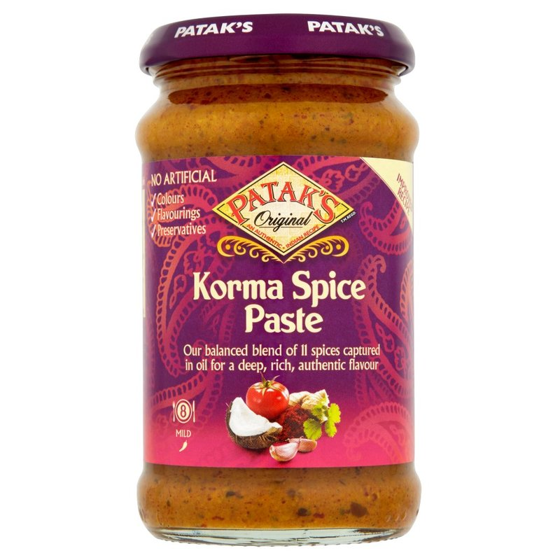 PATAK'S PREPARATO PER IL CURRY INDIANO KORMA 290G