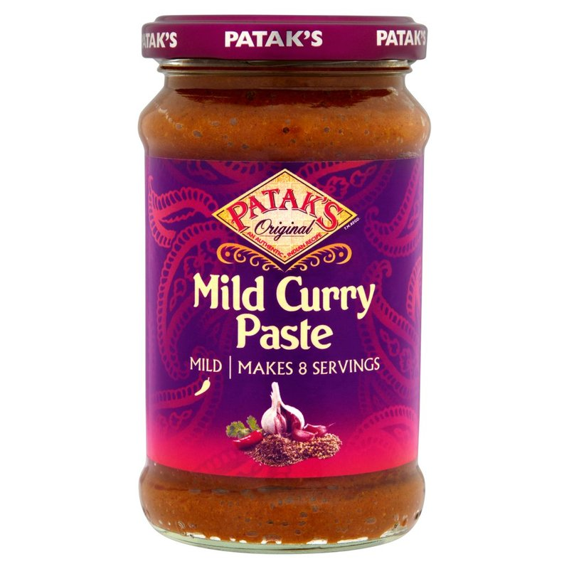 PATAK'S PREPARATO PER IL CURRY INDIANO MILD 283G
