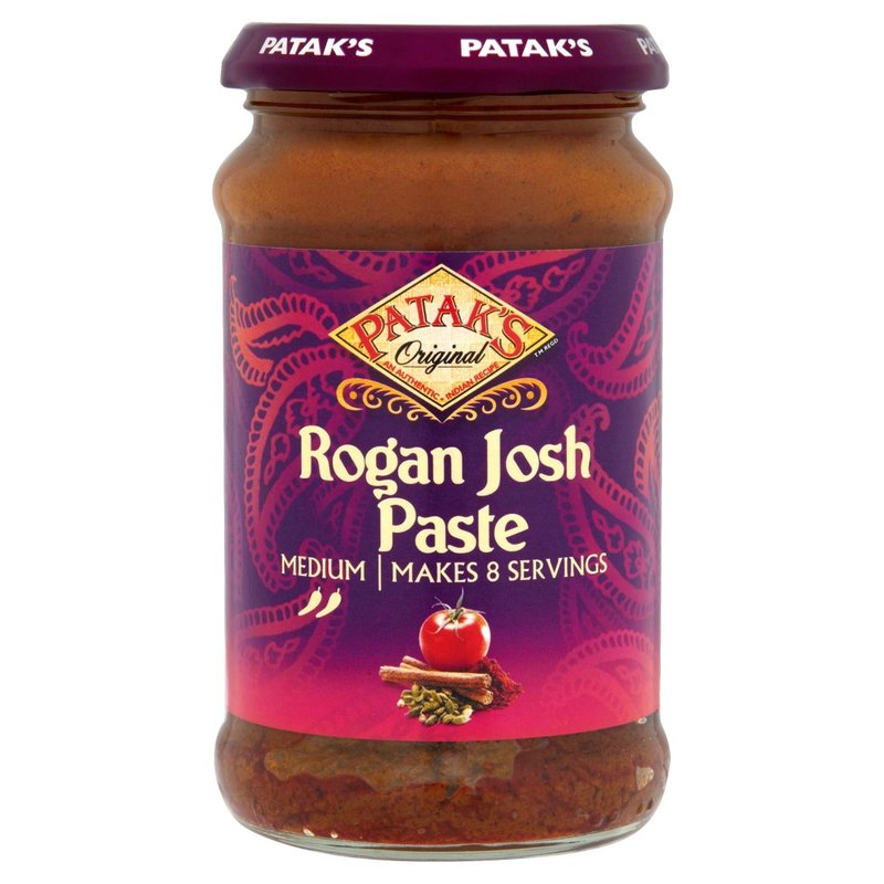 PATAK'S PREPARATO PER IL CURRY ROGAN JOSH 283G