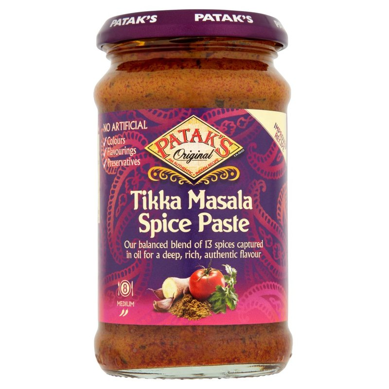 PATAK'S PREPARATO PER CURRY TIKKA MASALA 283G