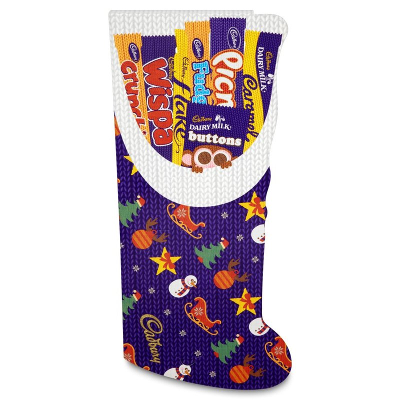 CADBURY SELECTION BOX STOCKING 208G