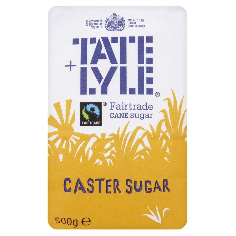 TATE + LYLE CASTER SUGAR 500G