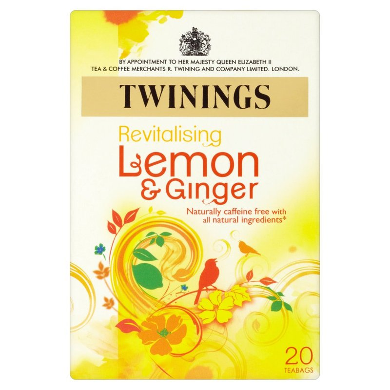 TWININGS LEMON & GINGER 20S INFUSION