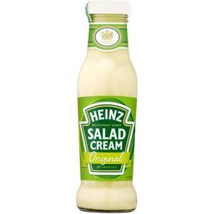 HEINZ SALAD CREAM 285G GLASS