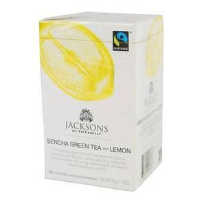 JACKSON'S OF PICCADILLY Tè VERDE CON LIMONE 20S