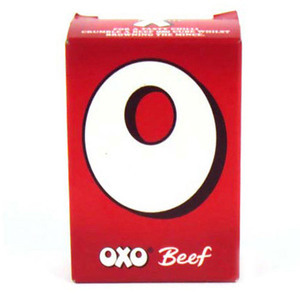 OXO STOCK CUBES BEEF (12) 71G