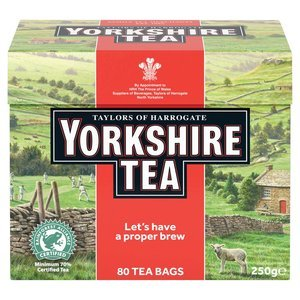 TAYLORS OF HARROGATE YORKSHIRE TEA 80 TEA BAGS