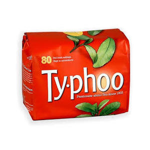 TYPHOO 80 TEA BAGS 250G