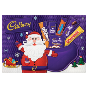 CHRISTMAS - CADBURY SELECTION CHARACTER BOX 165G