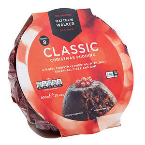 CHRISTMAS - MATTHEW WALKER CHRISTMAS PUDDING 400G