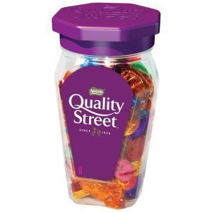 QUALITY STREET JAR 581G best by 04/2019