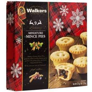 CHRISTMAS - WALKERS MINI MINCE PIES (9)