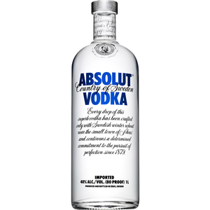 ABSOLUT VODKA 1LT