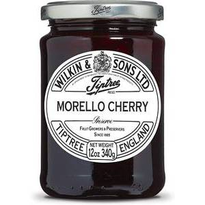 WILKIN & SONS MORELLO CHERRY PRESERVES 340g