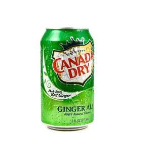 CANADA DRY GINGER ALE  CL33  IN CAN