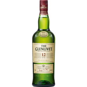 THE GLENLIVET SINGLE MALT SCOTCH WHISKY 12YO