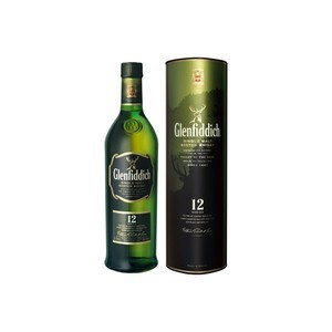 GLENFIDDICH SINGLE MALT SCOTCH WHISKY 12YO 70cl