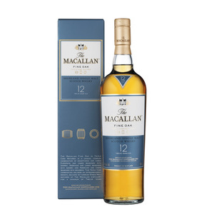 THE MACALLAN SINGLE MALT SCOTCH WHISKY 12YO