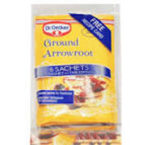 DR. OETKER GROUND ARROWROOT (6 sachets) best by 05/2019