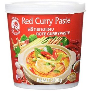PREPARATO PER CURRY TAILANDESE ROSSO 400G