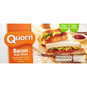 QUORN BACON STYLE SLICES 150G