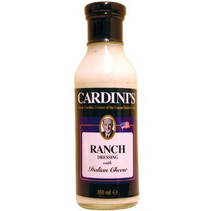 CARDINI RANCH DRESSING 350ML best by 08/2019
