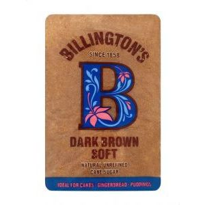 BILLINGTON'S SOFT BROWN SUGAR 500G