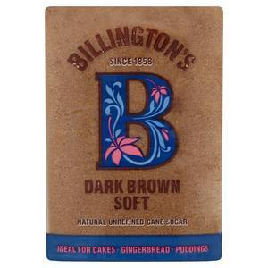 BILLINGTONS DARK BROWN SUGAR 500G