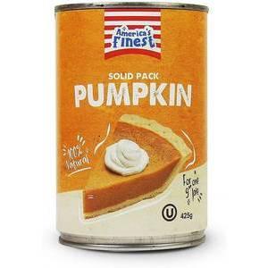 AMERICA'S FINEST CANNED PUMPKIN 425G