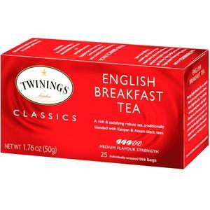 TWININGS ENGLISH BREAKFAST TEA (25)