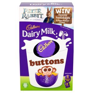 EASTER - CADBURY BUTTONS EGG MEDIUM 162G