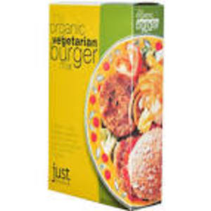 JUST WHOLEFOODS PREPARATO PER BURGERS VEGETARIANI 125G