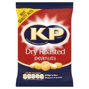 KP DRY ROASTED PEANUTS 100G best by 17/03/2018