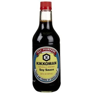 KIKKOMAN SOY SAUCE 500ML best by 27/06/2019